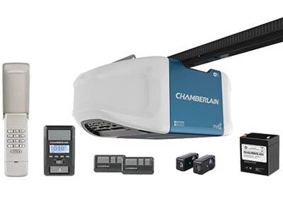 Chamberlain belt drive garage door opener