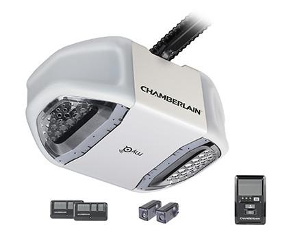 Chamberlain chain drive garage door openers