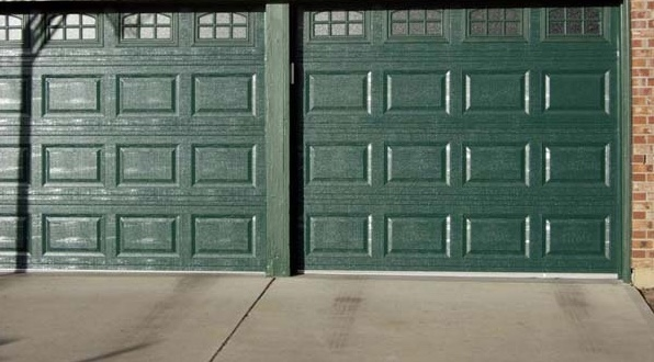 Double Garage Door Installation